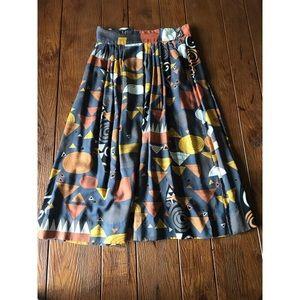 [Diane Von Furstenberg] Vintage Midi Skirt